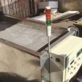 Banda de fusión de cera de parafina 58-60 la máquina con mesa de mezclas y de la bomba