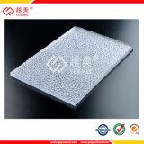 Feuille prismatique de polycarbonate de matériau de construction