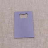 Rectangel Shape Metal Stainless Steel Carte de crédit Ouverture de bouteille en vente