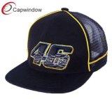 6 Panel nueva moda camionero Snapback malla sombrero con bordado (65050099)