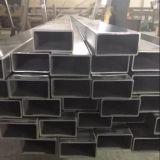 Tubo cuadrado del acero inoxidable de ASTM 304