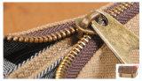 Retro sacchetto impermeabile britannico del computer portatile di Crossbody del messaggero dei sacchetti di spalla della tela di canapa (RS-6633)