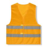 Vêtements de travail r3fléchissants de gilet de garantie de sûreté avec la bande r3fléchissante