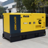 tipo silenzioso del generatore diesel dei cilindri 85kVA quattro