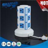 Multi zoccolo di alimentazione verticale con USB / Multi Layer / Tabella Sokcet