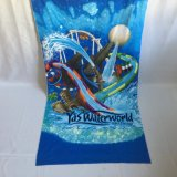 Sublimation Printing Printed Yas Water World Beach Towel