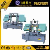 중국 두 배 란 G4028 수평한 금속 밴드 Sawing 기계 가격