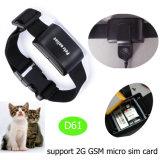 Nieuwste IP67 Waterdichte GPS van Huisdieren Drijver met Multifunctioneel (D61)