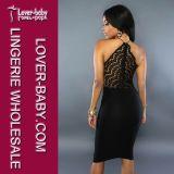 Dame Fashion 2016 Sommer-Partei-Abend-Kleid (L28019-2)