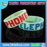 Fashion Full Colors Silicone Wristband Custom Silicone Bracelet Bracelet en caoutchouc