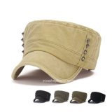 Förderung Fashion Custom Army Military Hat Cap mit Embroidery u. Printing