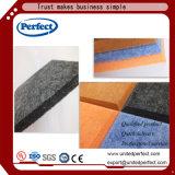 Painel acústico da isolação sadia de placa de fibra do poliéster