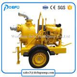 Horizontaler Klärschlamm-zentrifugale Dieselmotor-Abwasser-Pumpen mit Schlussteilen