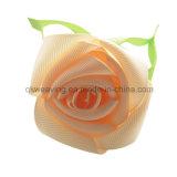 주문 장식적인 로즈 꽃 머리 활 클립