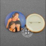 Badge en étain avec étain, imprimé d'impression (HY-MKT-0050)