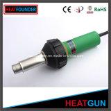 máquina de soldadura verde do ar 1600W quente com interruptor da temperatura