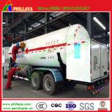 3axles de Semi Aanhangwagen van de Vrachtwagen van de Gashouder van het Argon van de Stikstof van de vloeibare Zuurstof