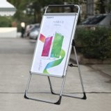 Soporte del cartel de la muestra A1 de la caminata lateral