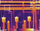 Cámara a prueba de explosiones de la toma de imágenes térmica de la detección de la temperatura