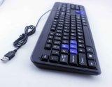 Combinado do rato e do teclado prendido