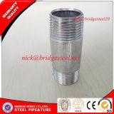 Bsp roscadas NPT niple de tubos de acero galvanizado de Tianjin