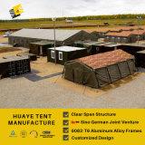 녹색 육군 군 알루미늄 천막 (HAF)