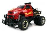 28281403-Velocity Toys тележка 1-12 RTR пожара Tg-4 двойно электрическая RC джунглей