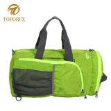 余暇Foldable旅行手持ち型の肩のバックパックの防水荷物袋