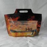 سكر يعبّئ حقيبة يقف رقيقة معدنيّة فوق كيس [فوود غرد] رمز بريديّ تعقّب هويس حقيبة [مس-لب040]