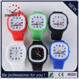 Wristwatches силикона студня способа цветов (DC-970)