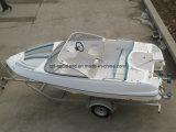 Barco de motor de la fibra de vidrio de China Aqualand 17feet los 5.2m/deportes Bowrider (170)
