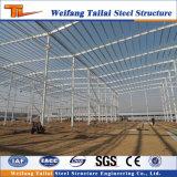 Edificio de alta calidad de construcción personalizado Estructura de acero prefabricados de acero al carbono