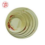 Porcelaine de Harmonia Espagne de qualité comme la plaque réglée de vaisselle blanche d'hôtel