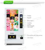판매를 위한 접촉 스크린 음료 또는 식사 자동 판매기