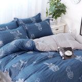 中国卸し売り印刷されたMicrofiberのカスタム寝具セット