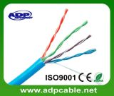Cable de LAN Twisted de Cat5e UTP 4 24AWG