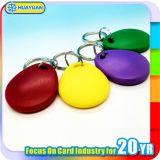 ロゴの印刷MIFAREの標準的な1K ABS RFID Keyfob札
