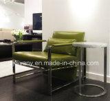 Singolo sofà della poltrona di cuoio moderna della sede (D-78)