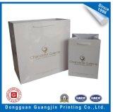 Libro Blanco de la serie de moda bolsa de compras con laminado brillo