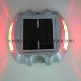 Lumière clignotante de ventes du plot réflectorisé DEL de goujon solaire r3fléchissant chaud de route