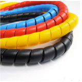 O PVC PE PA PP manga de protecção em espiral para equipamento de engenharia