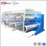 Plástico Polipropileno PP de alta velocidade com fios plana linha de produção de alongamento de extrusão de fita