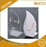 Sauter vers le haut l'étalage cosmétique de montre de bijou de bijou de mémoire de boucle au détail en plastique acrylique de lunetterie