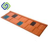 지붕용 자재 돌은 잘게 썬다 입히는 금속 기와 (지붕널 도와)를