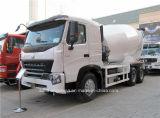 Caminhão do misturador concreto do misturador Truck/371HP 6X4 de HOWO A7 8m3
