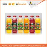 Bouteille de boisson de fruits en plastique sticker autocollant Impression des étiquettes adhésives