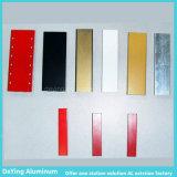 Extrusion en aluminium d'aluminium de profil d'usine en aluminium d'industrie de précision