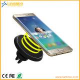 Radio chargeant le chargeur sans fil de véhicule de support magnétique pour l'iPhone Samsung