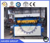 Máquina de corte da placa de metal da elevada precisão