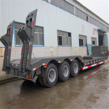 80tons Low Bed Semi Trailers